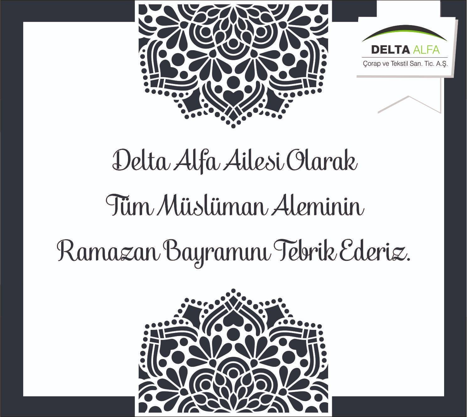 Delta Alfa'dan Bayram Kutlaması