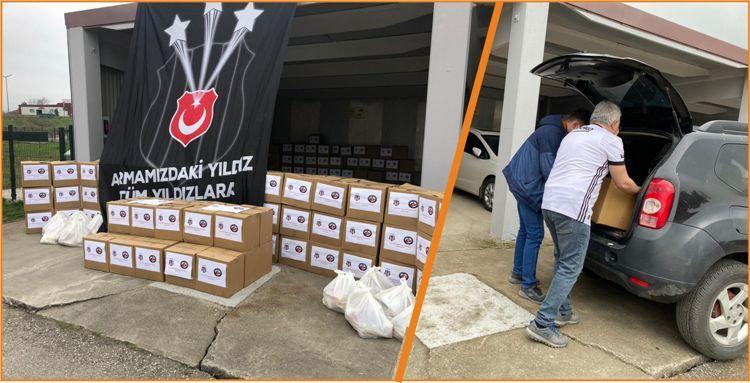 Beşiktaşlılar Derneği'nden Ramazan Yardımı