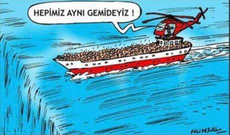 Aynı gemideyiz biz